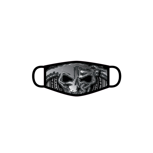 Masters of Hardcore PRE-ORDER MOH ZOOMED SKULL FACE MASK