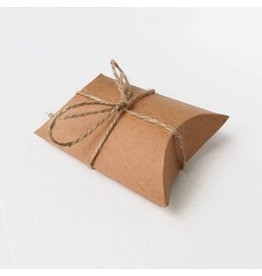 Bruidsknaller 10 Kraftpapier geschenkdoosje/gift box