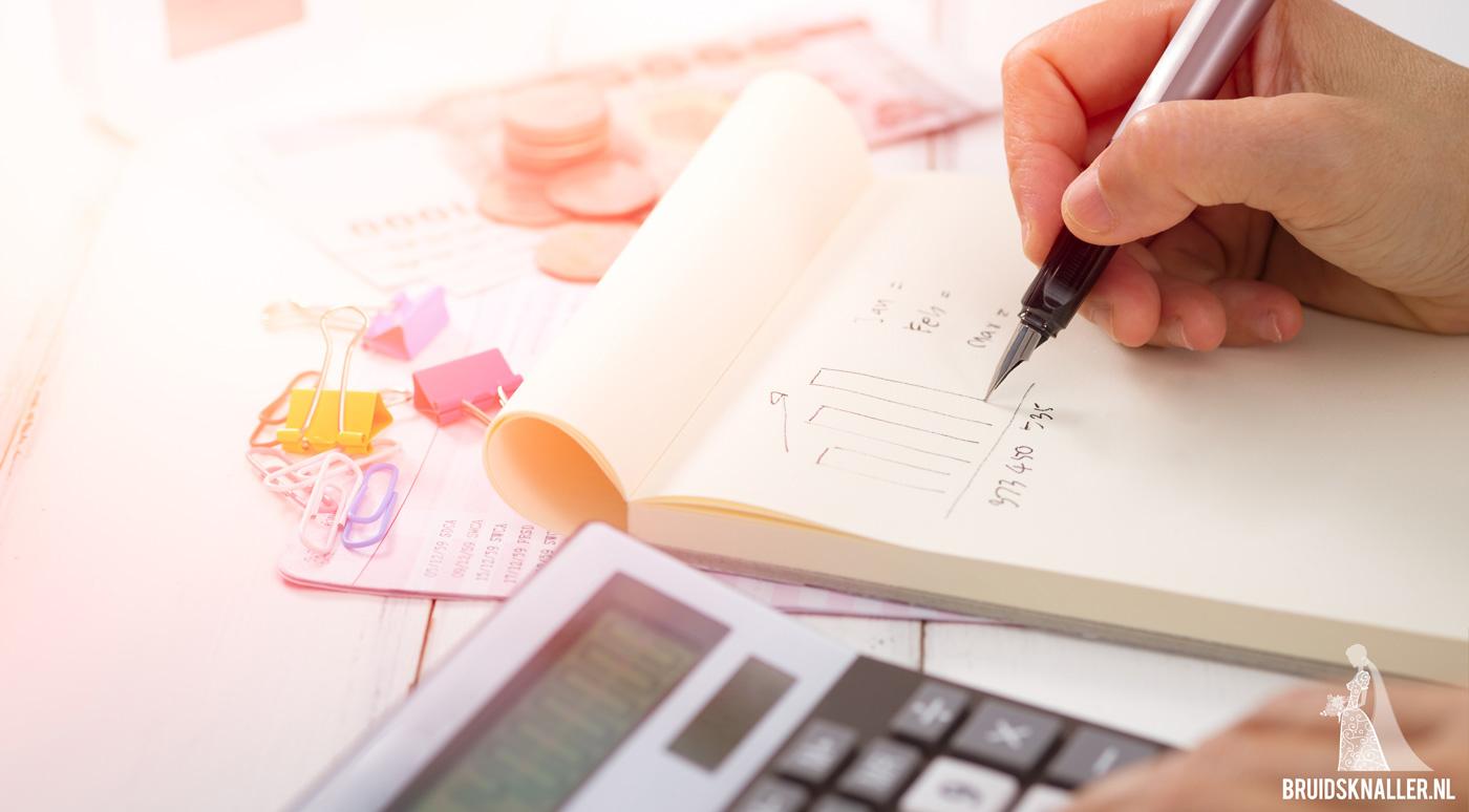 De Bruidsknaller rekentool: bereken het budget voor jullie bruiloft