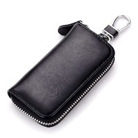 Key Case with 6 Hooks Black