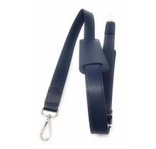 Leder Schultergurt für Damen Laptoptasche - Umhängegurt - 13,3 und 15,6 Zoll Laptoptaschen - Dunkelblau