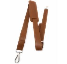 Leren Schouderband voor tas - Schouderriem- Draagriem - Schouderband tas - Geschikt voor 13 3 en 15 6 inch Dames Laptoptas - Bruin