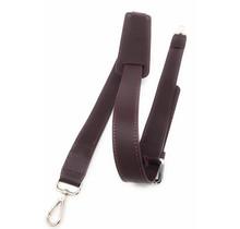 Leder Schultergurt für Damen Laptoptasche - Umhängegurt - 13,3 und 15,6 Zoll Laptoptaschen - Bordeaux Rot