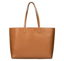 Luxe Shopper voor Dames - Grote Schoudertas Handtas - Tote Dames Hobotas - Echt Leren - Bruin