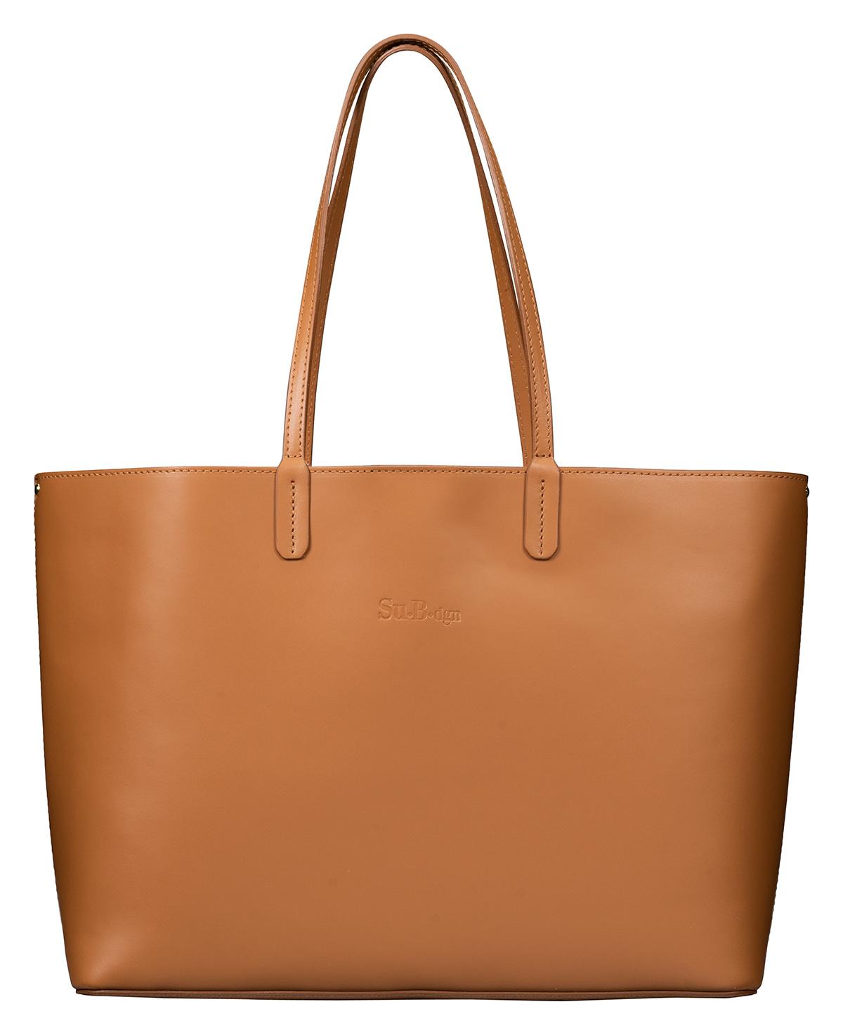 c63d2c031e2 Luxe Tote en Shopper Tas voor Dames | Bruin - Su.B Collection