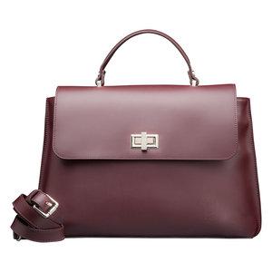 Su.B Tilburg Damen Handtasche Bordeaux Rot
