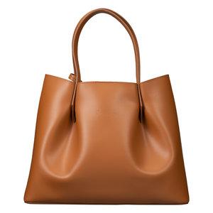 Su.B Luxury Shopper Bag Brown