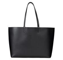 Luxurious Shopper for Women - Large Shoulder Bag Handbag - Tote Ladies Hobo Bag - Leather -Black