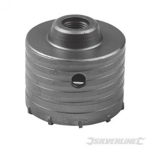 Silverline Dozenboor 76mm voor steen