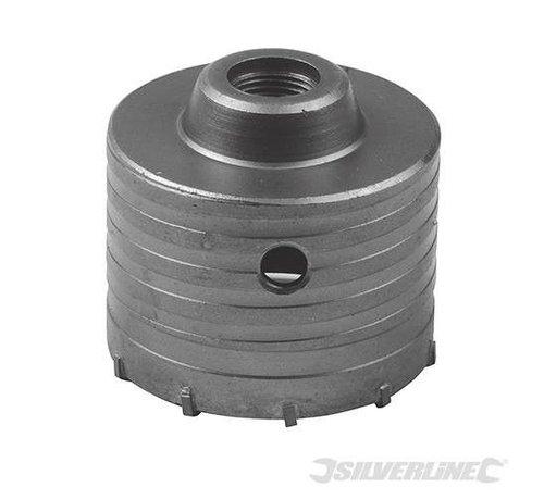 Silverline Dozenboor 80mm voor steen