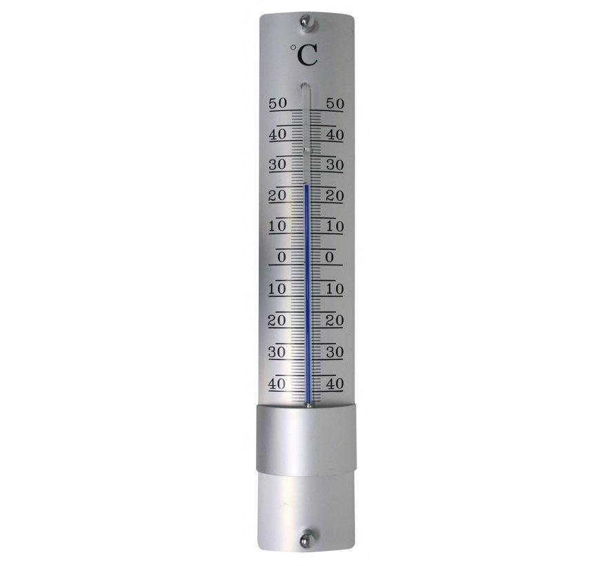 Hendrik Jan thermometer aluminium 21 cm