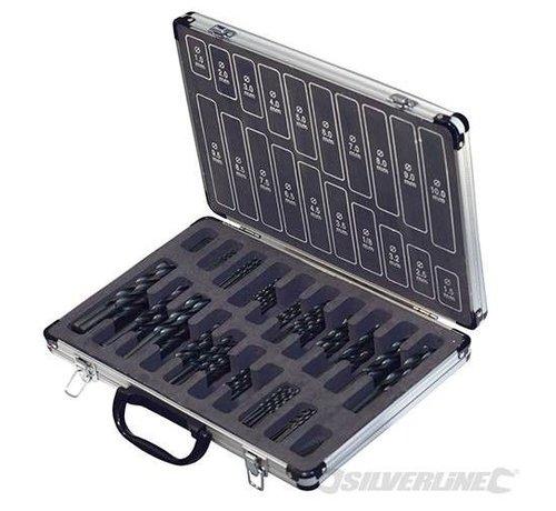 Silverline Borenset 170-delige HSS in koffer