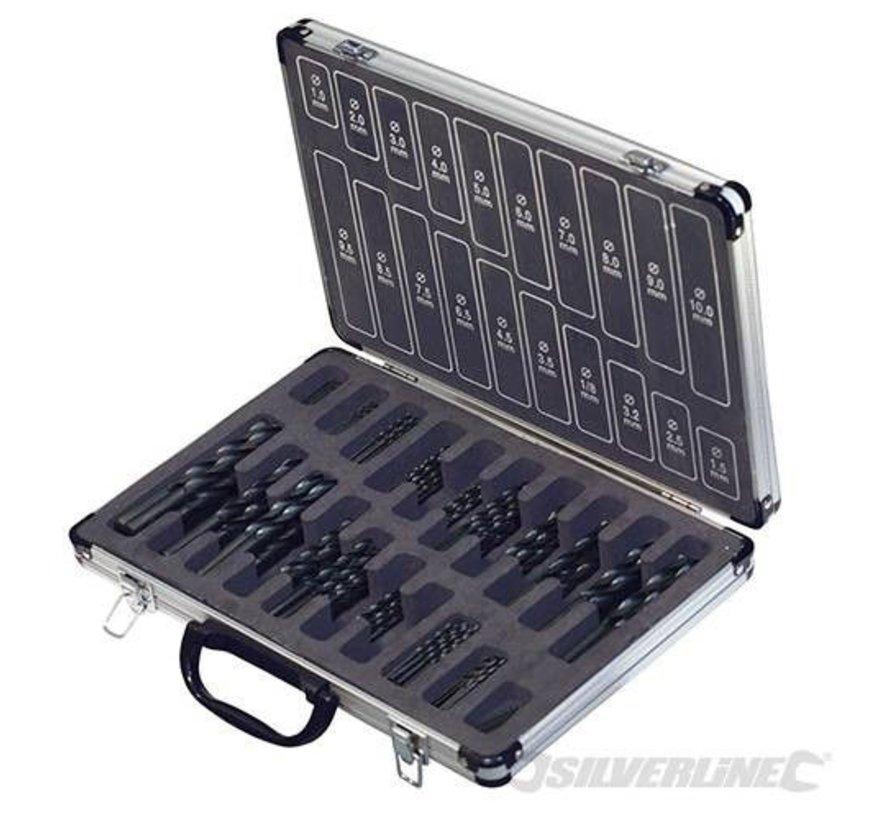 Borenset 170-delige HSS in koffer