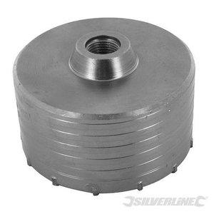Silverline Dozenboor 150mm voor steen
