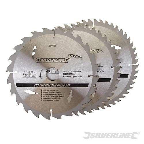 Silverline Zaagblad 210 x 30/25/16 mm SET