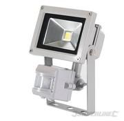 Silverline Ledstraler werklamp 10 Watt met bewegingsmelder