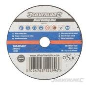 Silverline Metaal snijschijven 100x2,5x16mm OSA label
