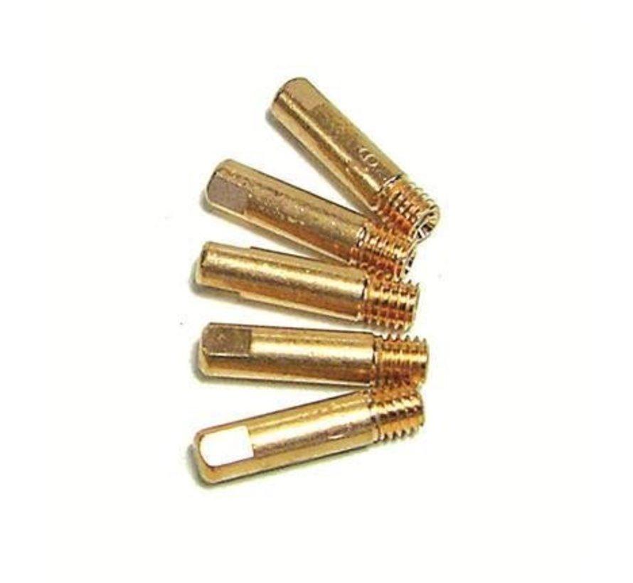 branderkopjes 0,6mm m5 draad