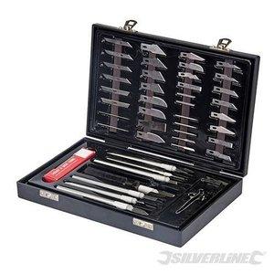 Silverline Hobby Knife Set 51-delig