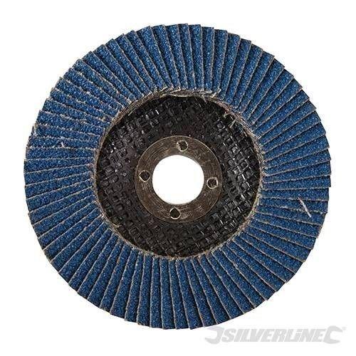 Silverline Lamellenschijf Zirkonium K40 115mm