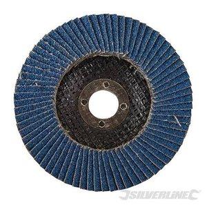 Silverline Lamellenschijf Zirkonium K80 115mm