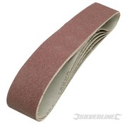 Silverline Schuurband 686x50mm K80 5-delig Silverline