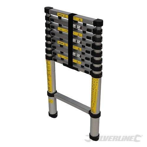 Silverline Telescopische ladder, 2,6 m1 Silverline