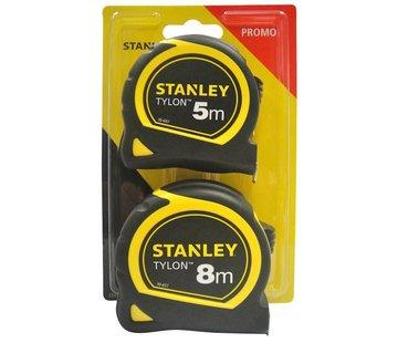 Stanley Stanley Promopack Tylon Rolbandmaat 8m + 5m