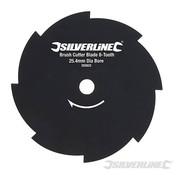 Silverline Bosmaaierblad 8 Tands 254x25,4mm