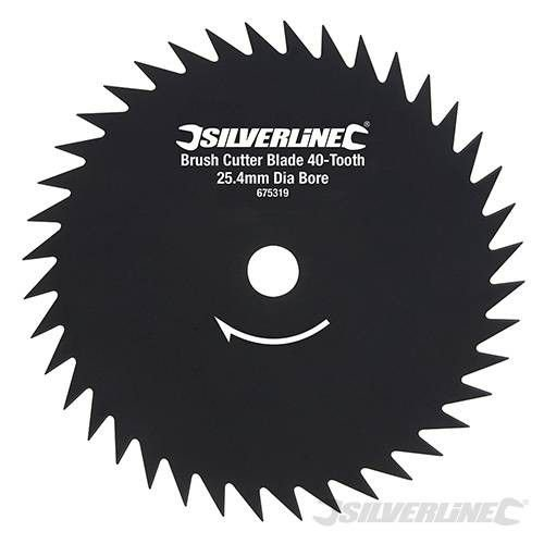 Silverline Bosmaaierblad 40 Tands 254x25,4mm