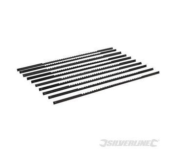 Silverline Figuurzaagbladen 10 TPI - Hout - 10 stuks