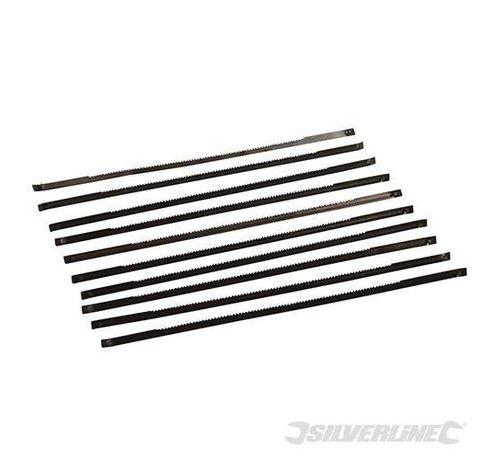 Silverline Figuurzaagbladen 24 TPI - Metaal - 10 stuks