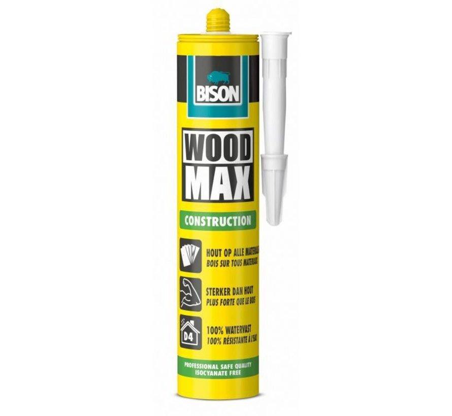 Bison Wood Max Construction houtconstructielijm 380 Gram
