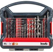 KWB KWB 41-delige boren en bitset 109104