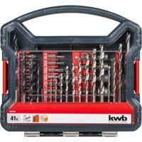 KWB 41-delige boren en bitset 109104