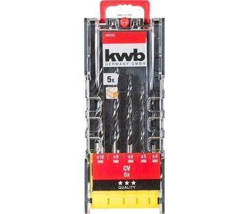 KWB KWB 5-delige Houtboren set 109135
