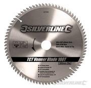 Silverline Zaagblad 300 x 30/25/20/16 - 100 Tands