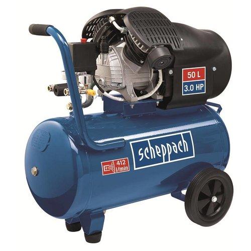 Scheppach Scheppach HC52DC Dubbele Cilinder Compressor 50liter