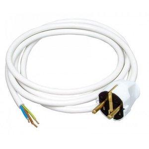 Kopp Kopp aansluitsnoer 2 m 3 x 1 mm² wit