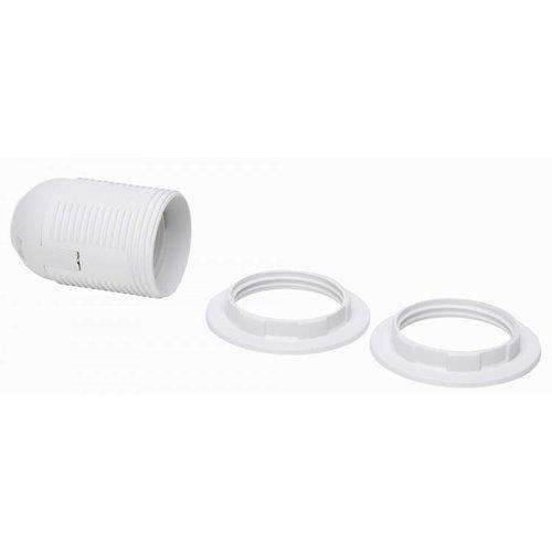 Kopp Kopp fitting E27 + 2x ring wit