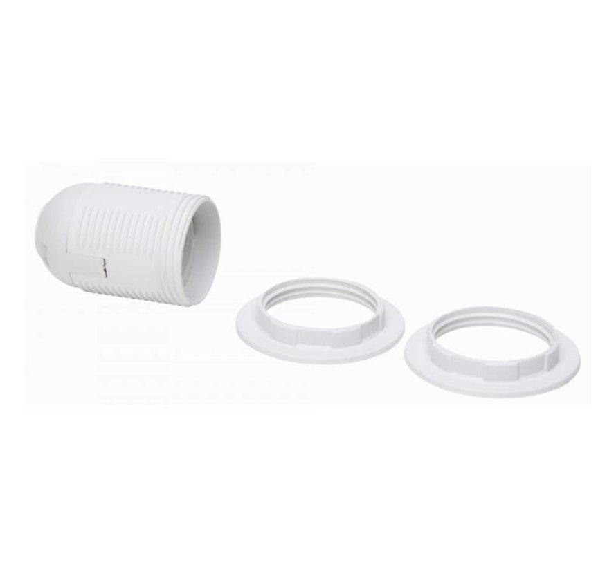 Kopp fitting E27 + 2x ring wit