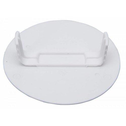 Kopp Kopp blindplaat klem rond klein wit