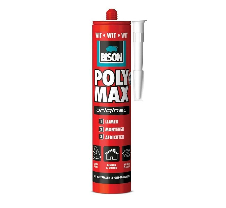 Bison Polymax - universeel kit - Wit