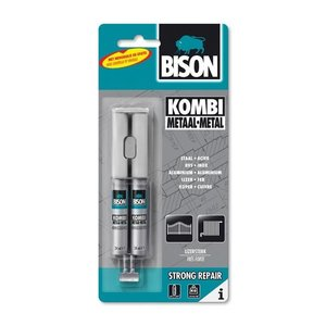 Bison Bison epoxylijm kombi metaal lijm