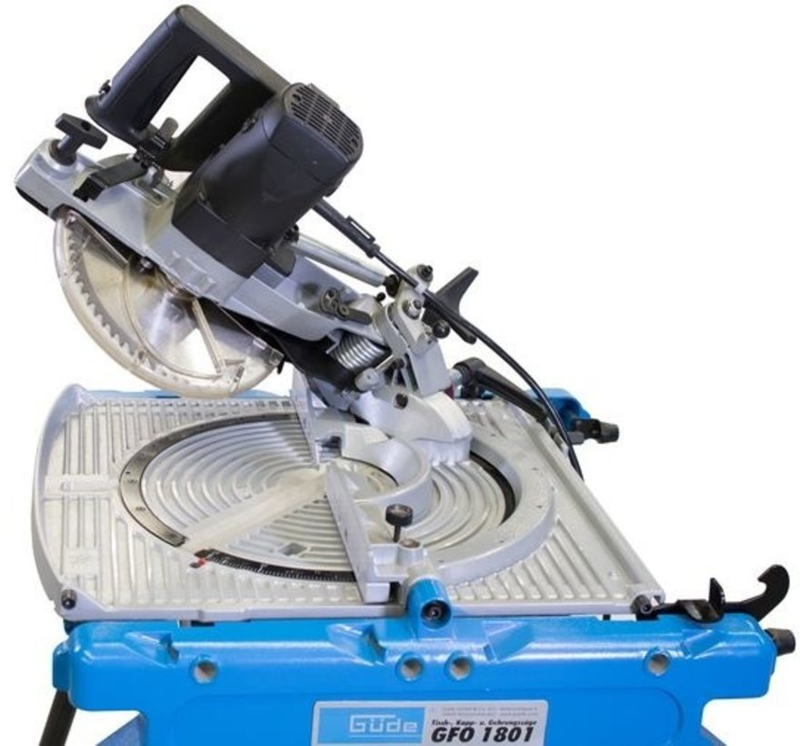 Gude GFO 1801 Flipover zaagtafel 1800 Watt