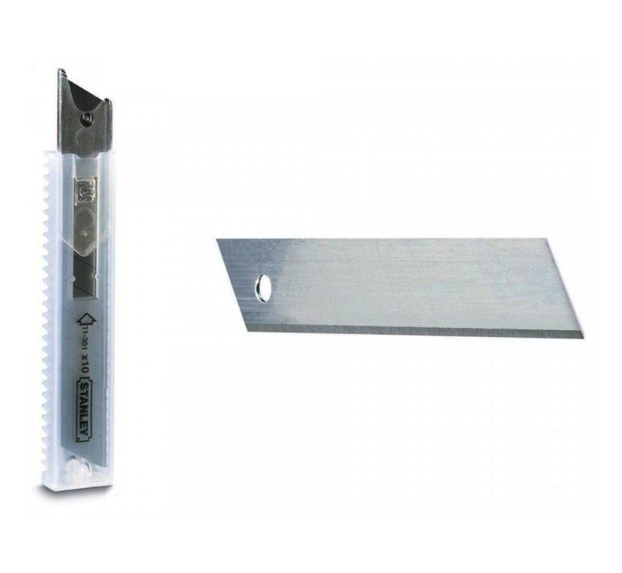Mes - 9 mm/10 stuks/Stanley