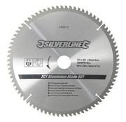 Silverline Zaagblad Aluminium 250 x 30/25/20/16 mm 80Tands