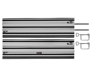 Einhell Gereedschap Geleiderail 2-delig Aluminium 2x 100cm