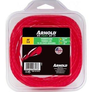 Arnold Trimmerdraad 2.0 mm x 15 m rood, rond, gedraaid