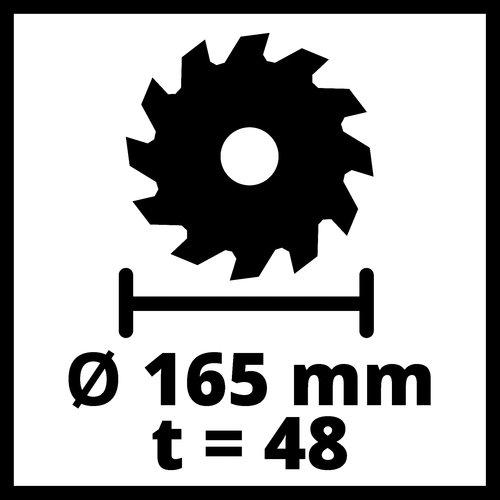 Einhell Einhell TE-PS 165 Invalzaag